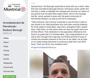 Montreal Water alert