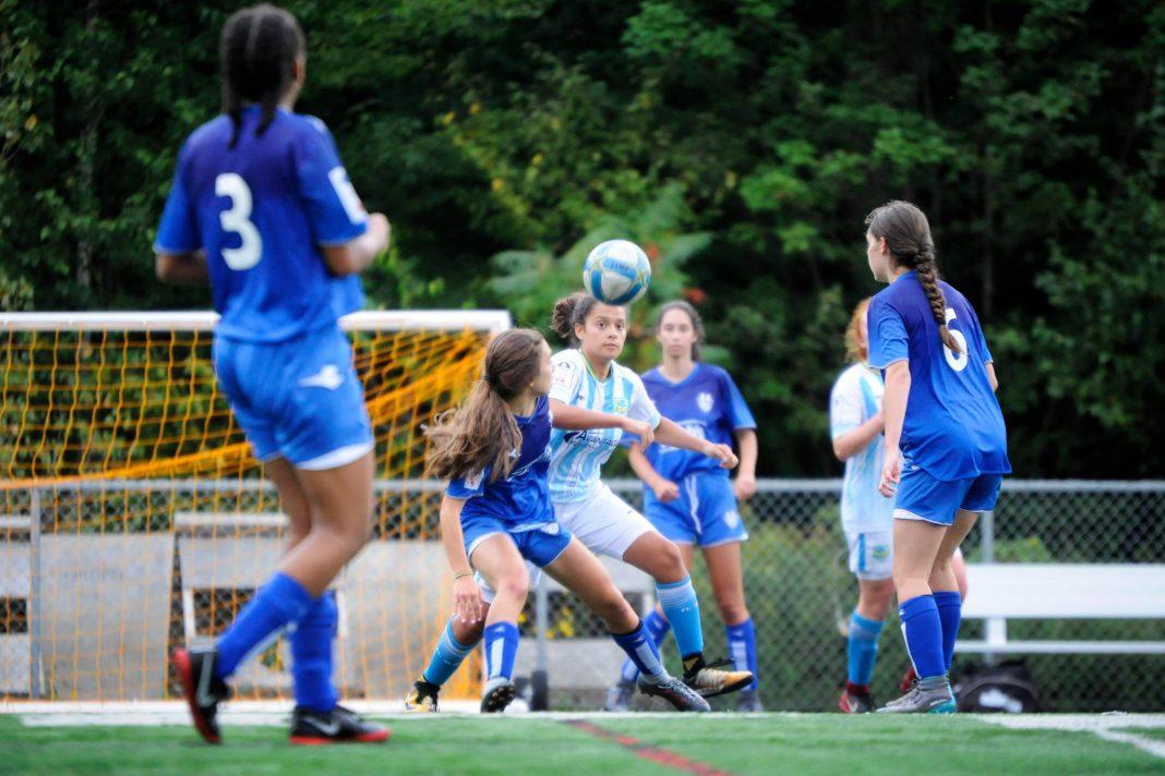 West Island female semi-pro soccer