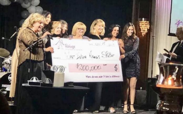West Island Women's Shelter gala 2019