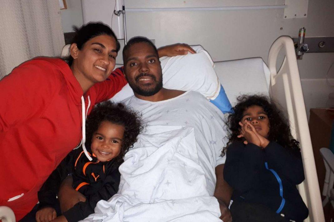 Anushka and family cancer west island