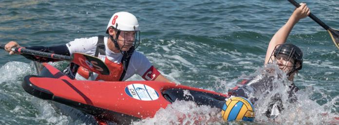 Canadian Canoe Polo Team Julie Brisson