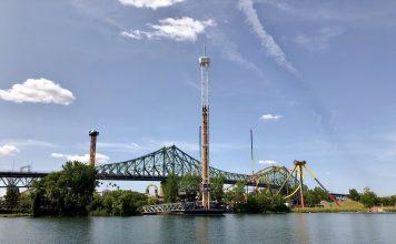 rollercoaster rides La Ronde theme park montreal fun amusement