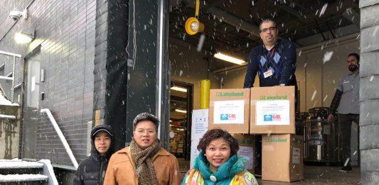 MCCAF medical supplies donation