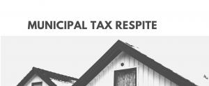 Municipal tax respite COVID-19