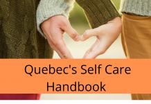 Quebec's self care handbook
