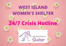 WEST ISLAND WOMEN'S SHELTER 24/7 Crisis Hotline