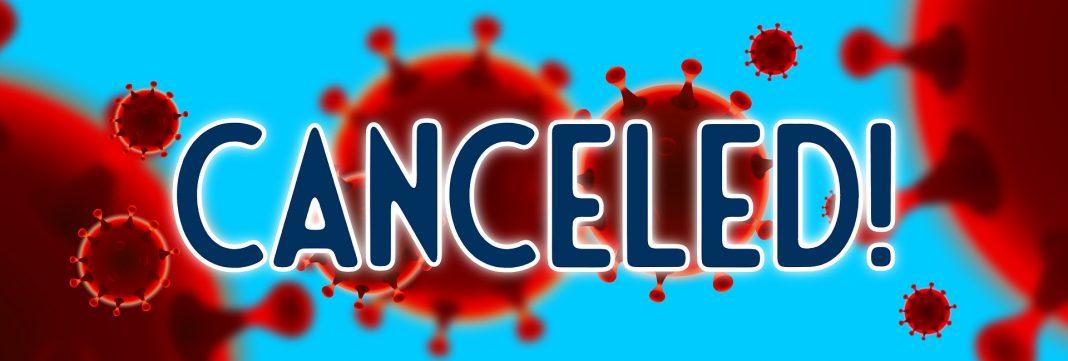 canceled cancel cancelled coronavirus covid-19