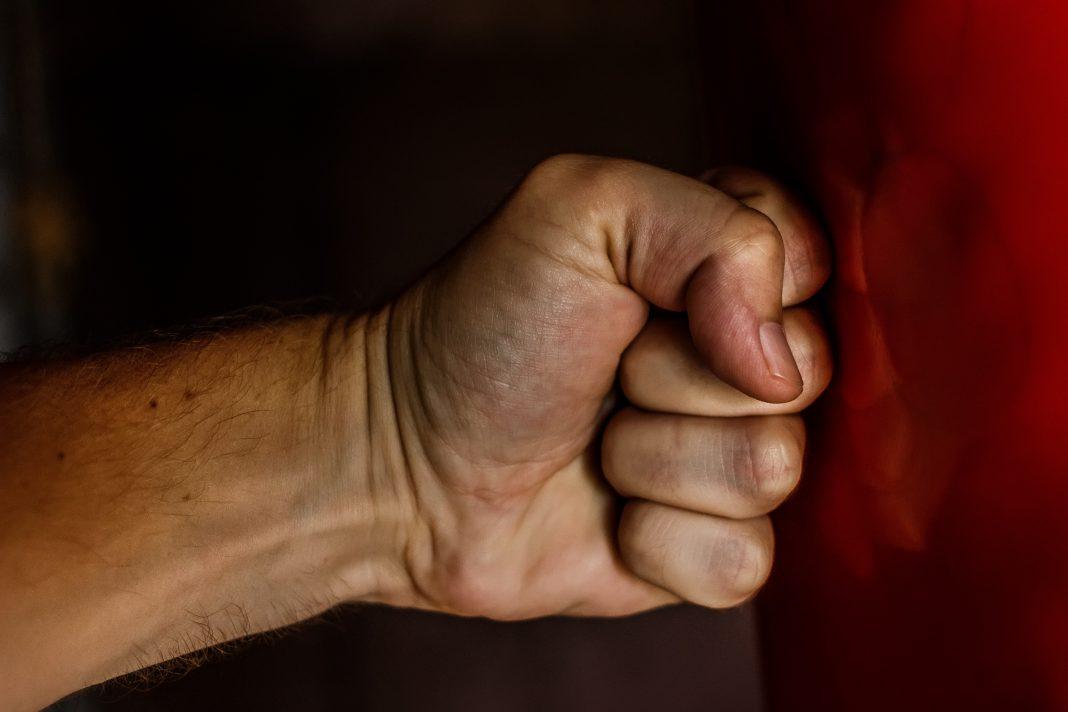 human fist violence