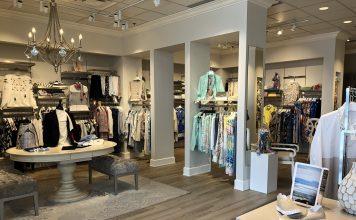 Retail store fashion clothes