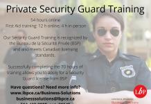 Lester B Pearson Security Guard Training