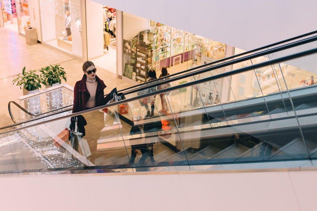 Shopping malls open