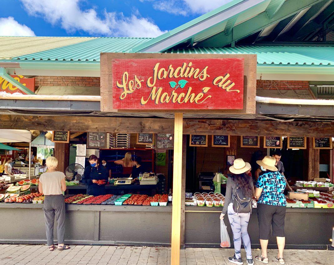 marche de l'ouest outdoor market