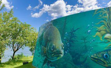 art mural west island