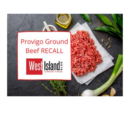 Provigo Ground beef recall