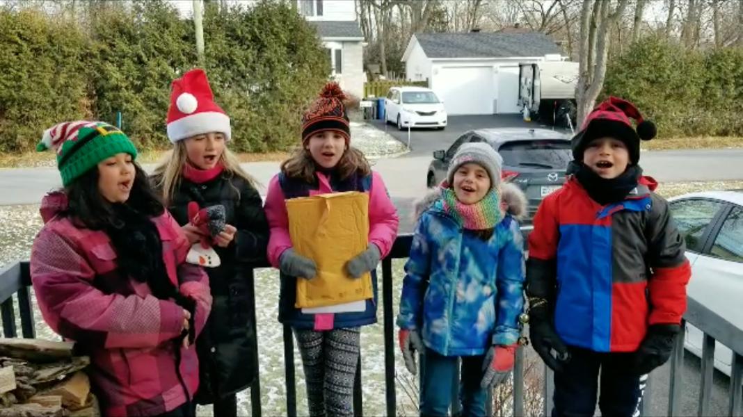 Christmas Carolling Beaconsfield Demo Pedulla