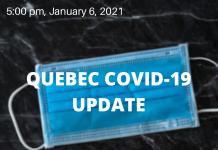 Quebec COVID-19 update