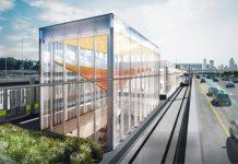REM Montreal Réseau Express Métropolitain Pierrefonds Sunnybrooke station