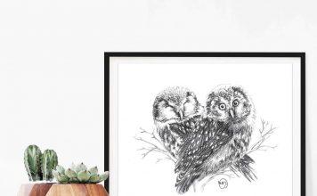 Zoo-Ecomuseum-Online-Store-print-illustration-owls-in-love-ChouettesenCoeuravecmockupcactus_1080x